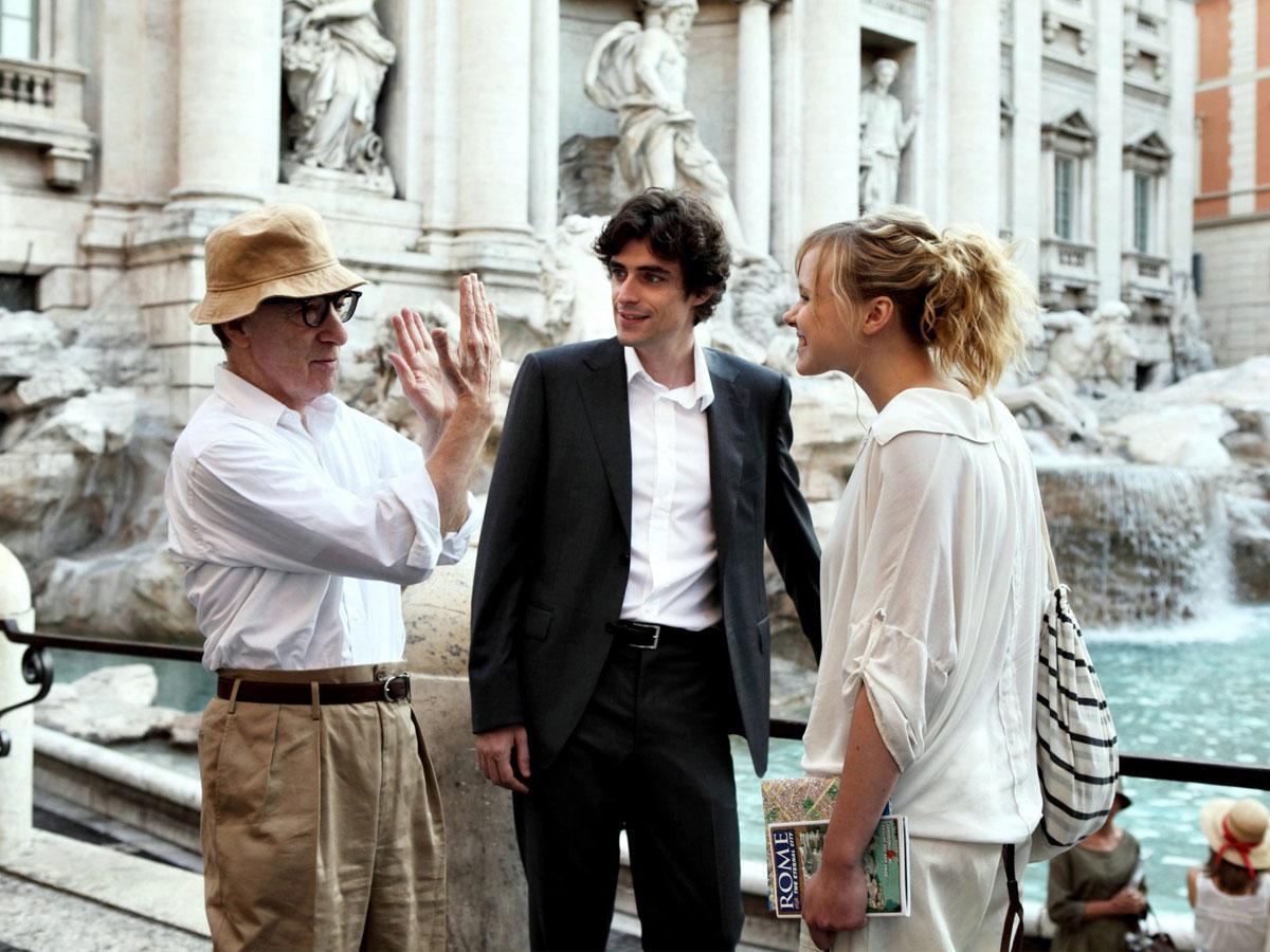Woody Allen w czasie pracy