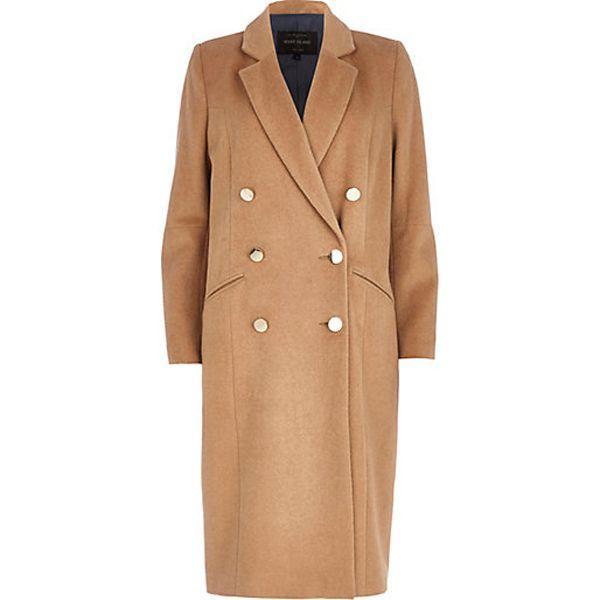 Beżowy płaszcz River Island, cena