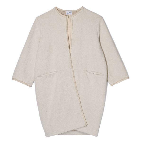 Beżowy płaszcz Est by Es, cena