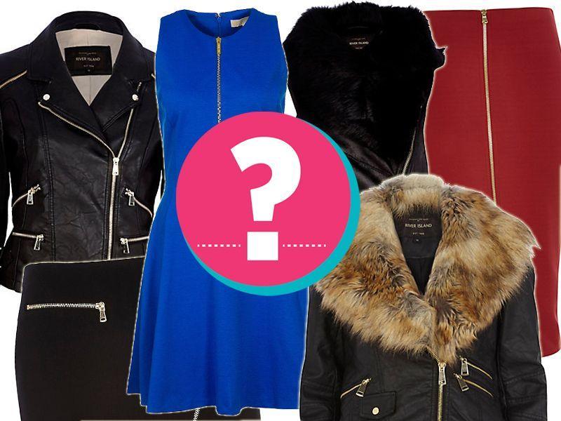 Trendy jesień 2014 - ubrania z suwakami