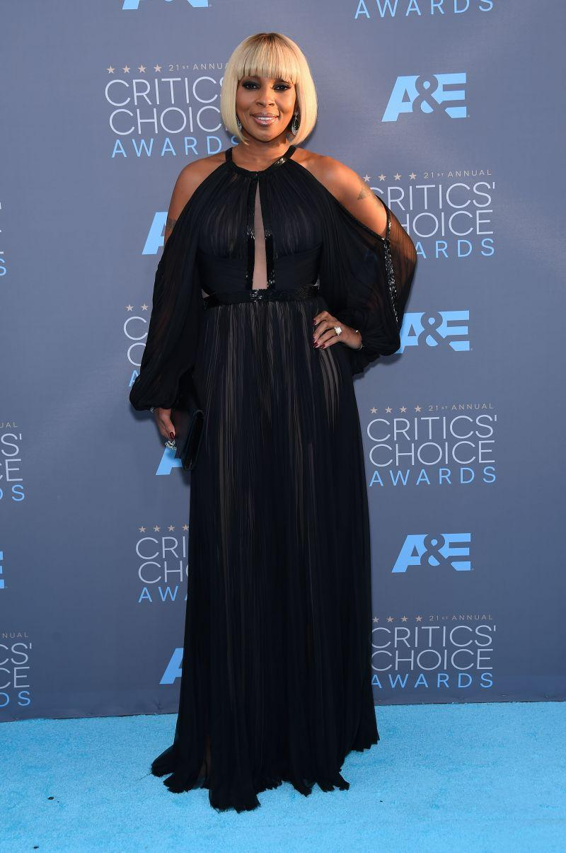Critics Choice Awards: Mary J Blidge