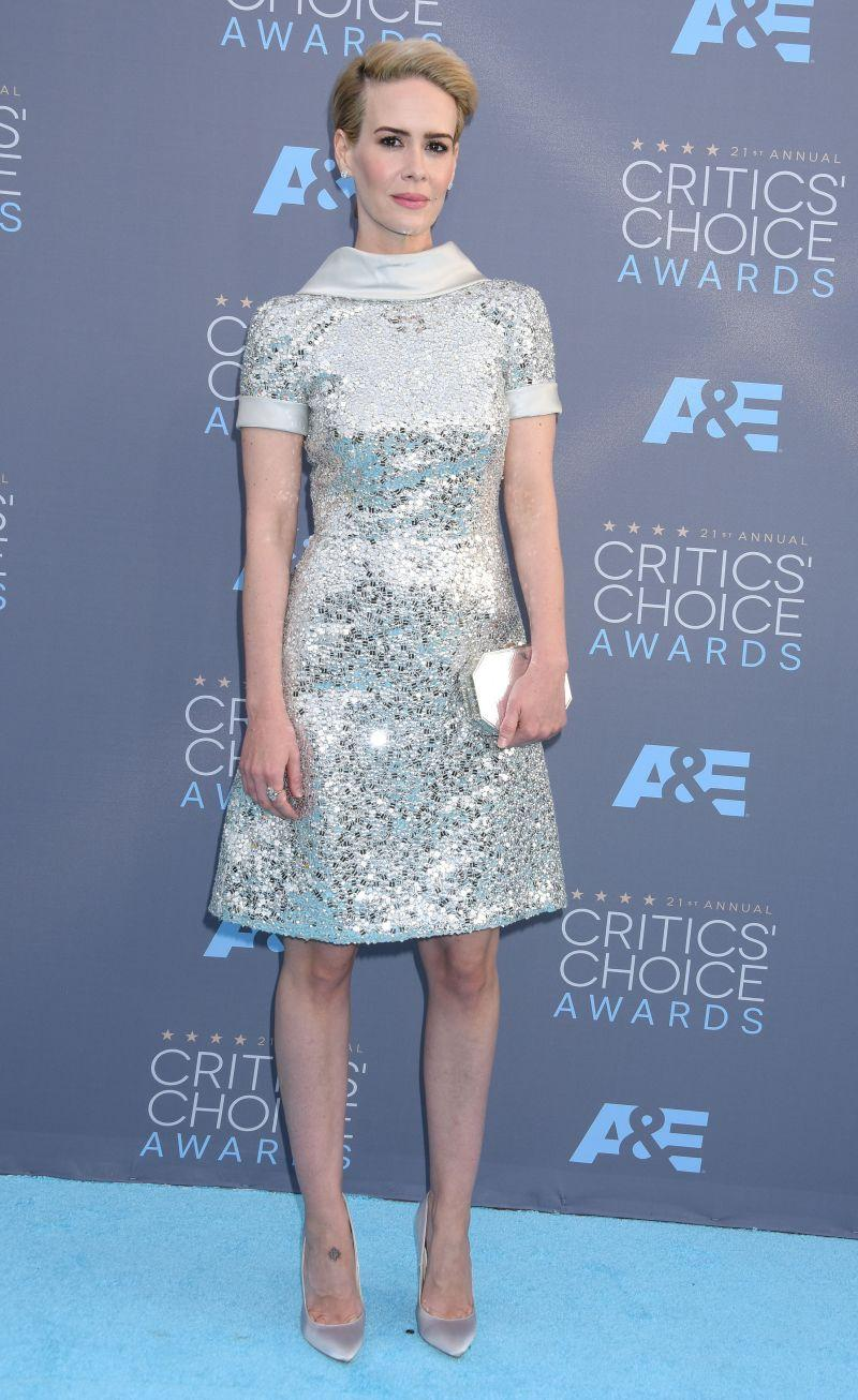 Critics Choice Awards: Sarah Paulson