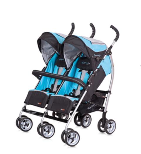 Wózek bliźniaczy spacerowy Duo Comfort Easy Go, cena orientacyjna: 550 zł