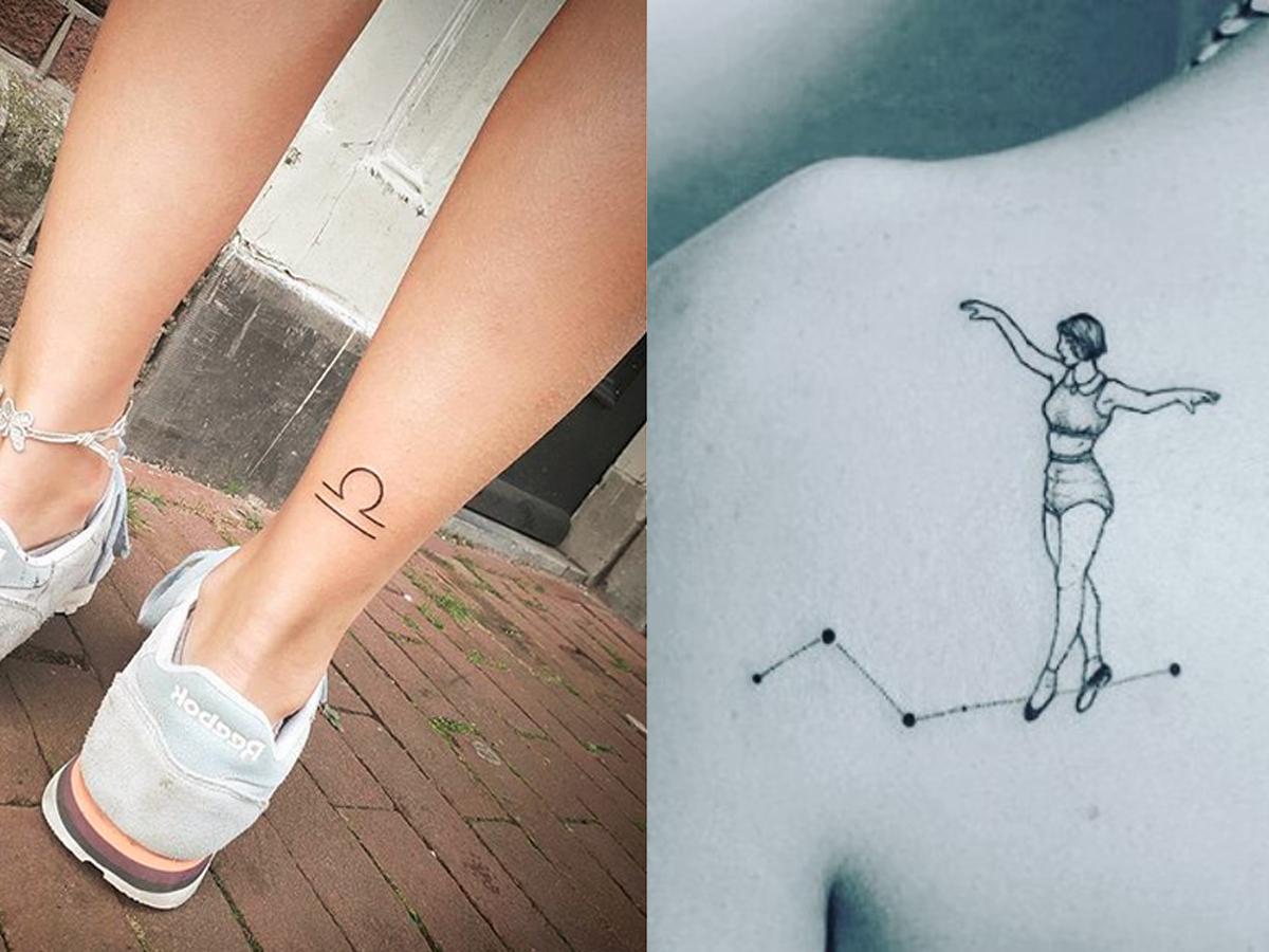 Tatuaże Ze Znakami Zodiaku Waga Tatuaż Co Trzeba