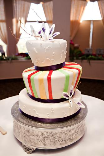 Wybierz modny tort na ślub i wesele - galeria