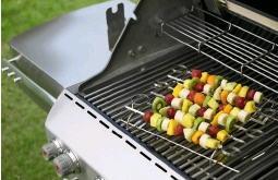 Szaszłyki owocowe z grilla