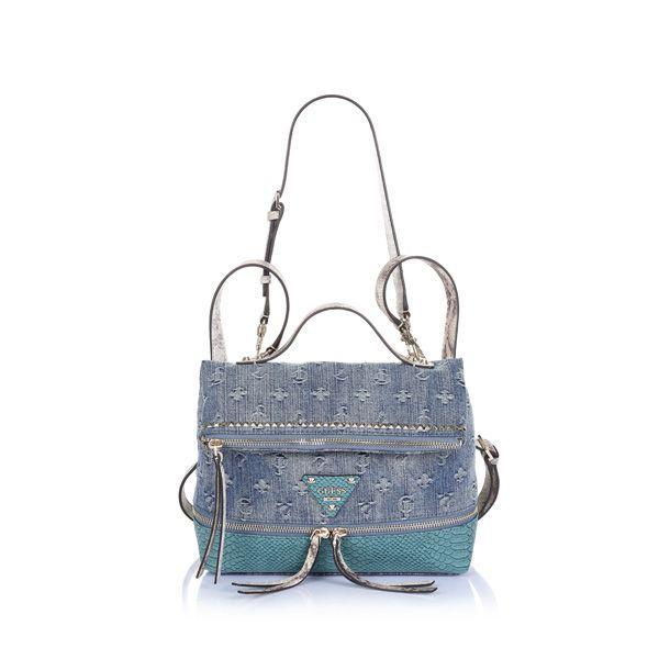Dżinsowa torba - plecak Guess