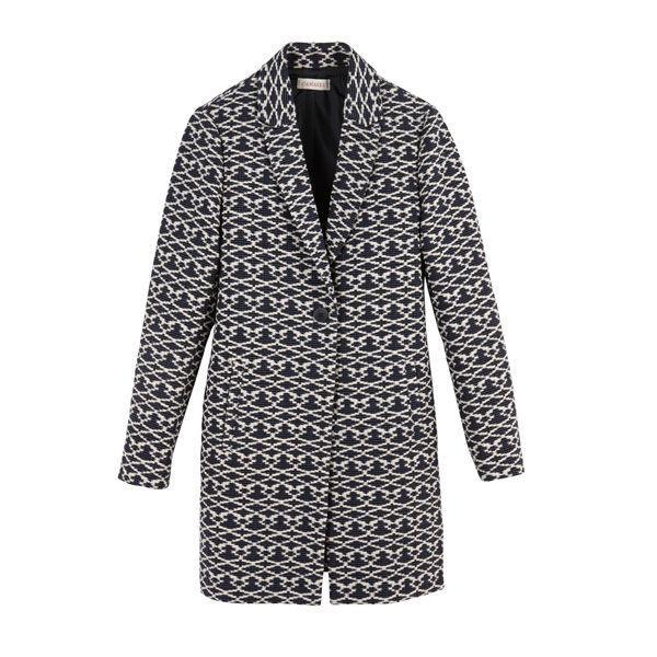 Wzorzysty płaszcz Camaieu, cena
