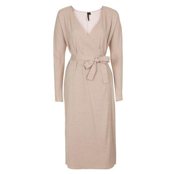 Kopertowa sukienka Topshop, cena