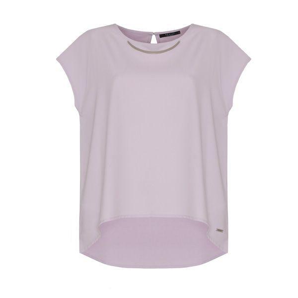 Pastele wiosna 2015: fioletowa bluzka Mohito, cena