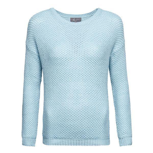 Pastele wiosna 2015: błękitny sweter Reserved, cena