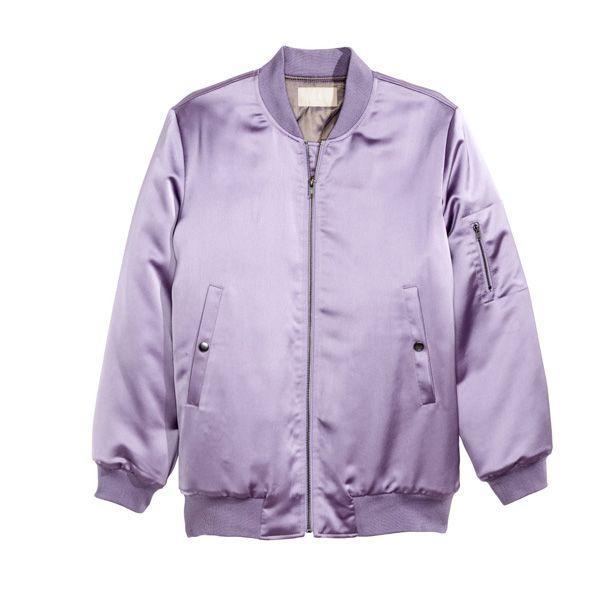 Pastele wiosna 2015: fioletowa kurtka H&M, cena
