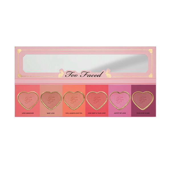 Paleta różów do policzków Love Flush Blush Wardrobe Too Faced, cena 159 zł