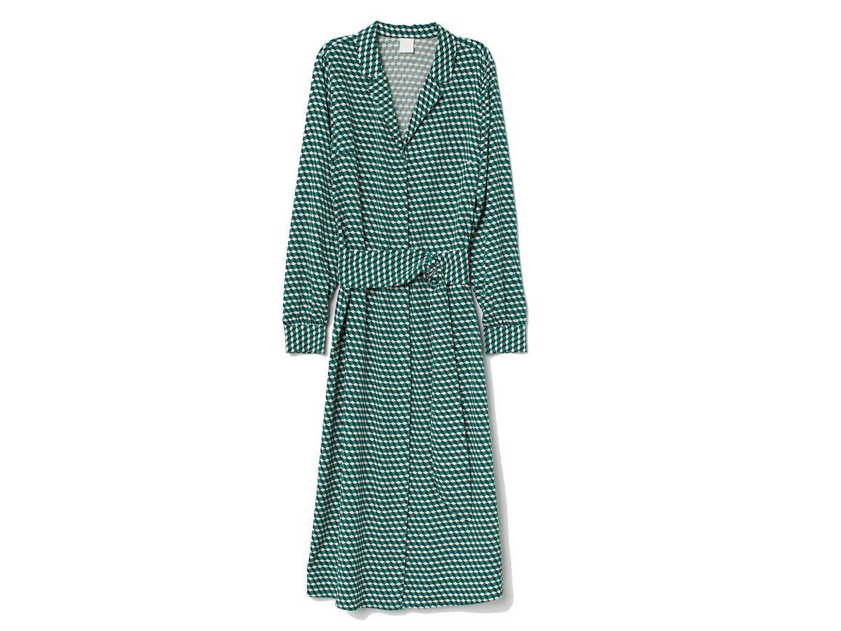 Wzorzysta sukienka H&M, cena