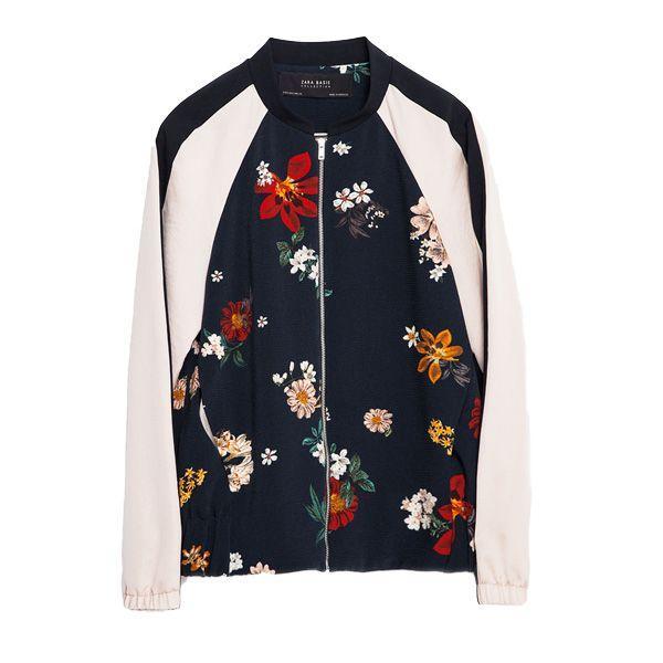 Bomber w kwiaty Zara, cena