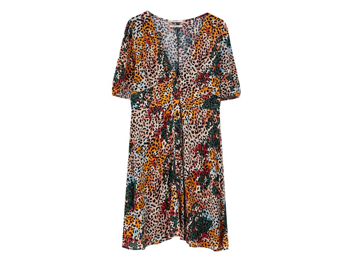 Sukienka w panterkę Pull&Bear, cena