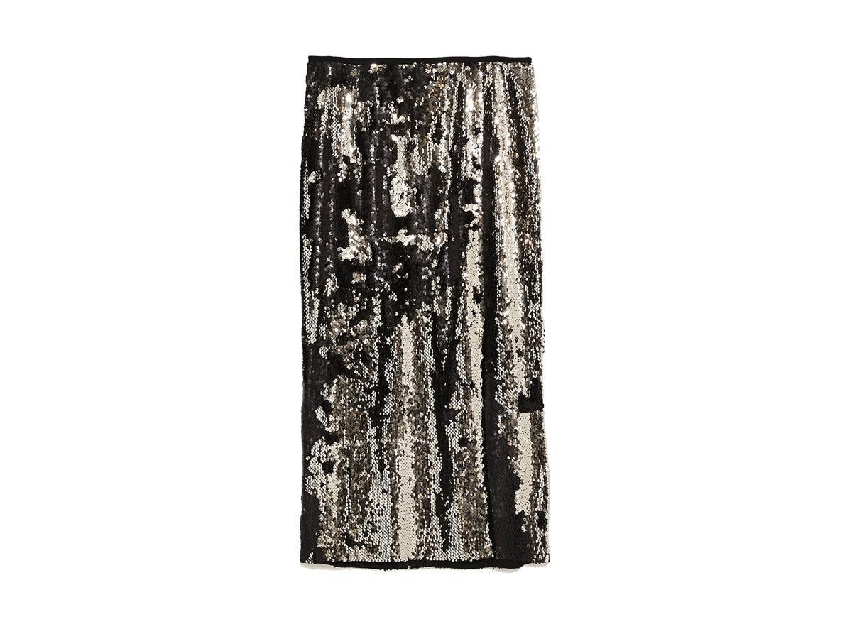 Cekinowa spódnica Zara, cena