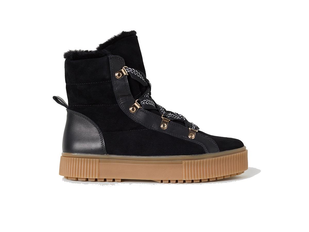 Ocieplane buty na płaskiej podeszwie H&M, cena