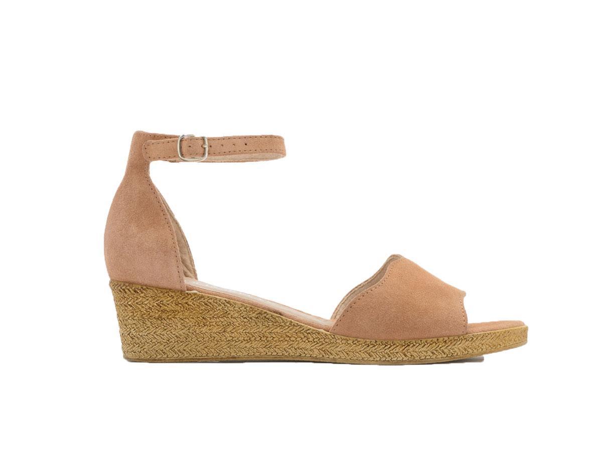 Beżowe sandały na koturnie, Ryłko, cena ok. 239,99 zł