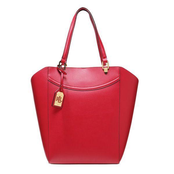 Czerwona torebka Lauren Ralph Lauren, cena