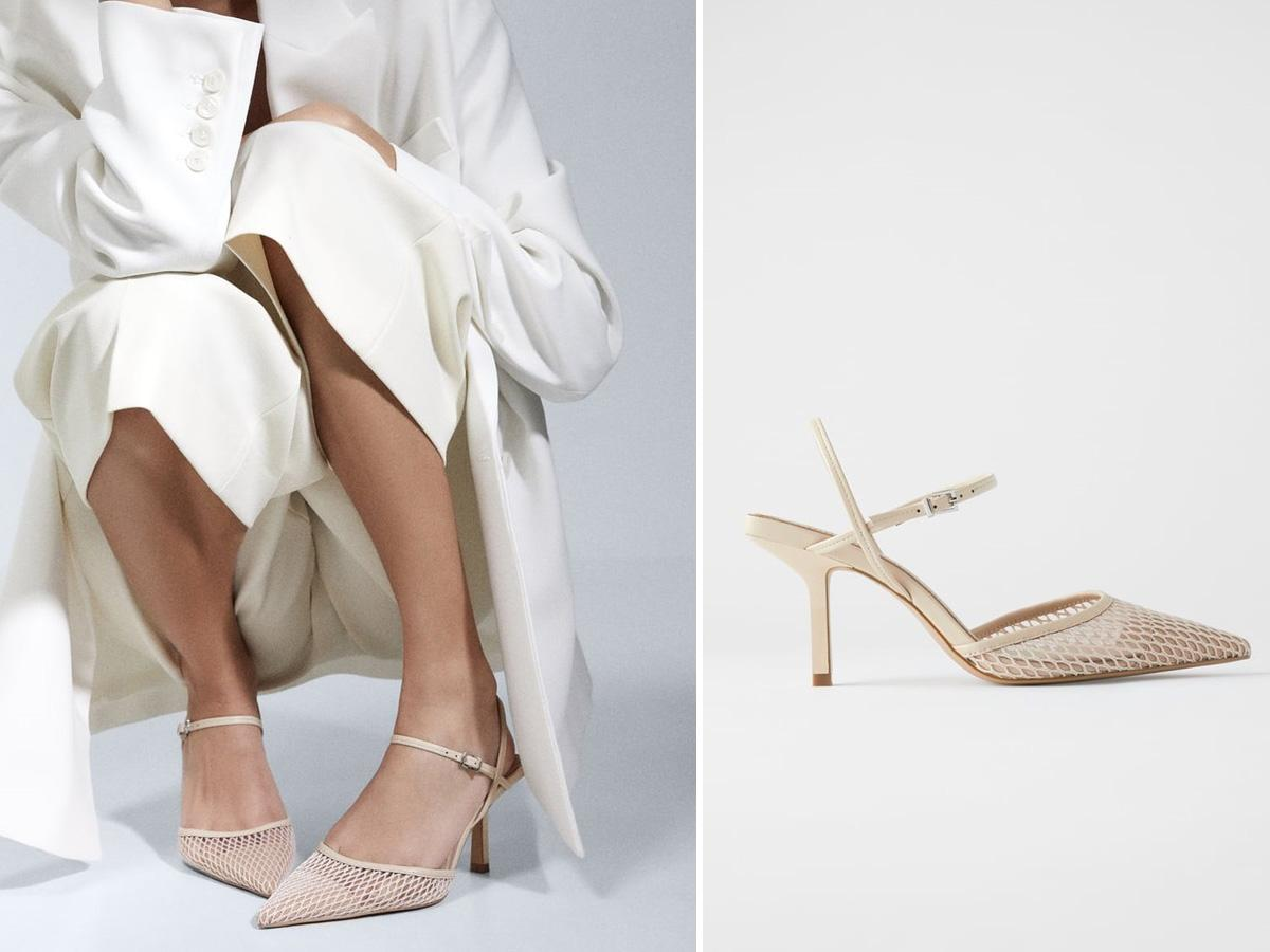 wyszczuplające buty Zara