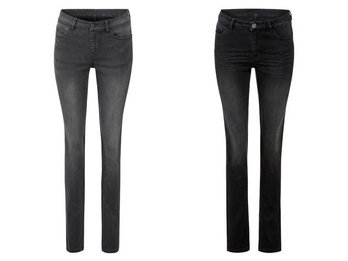 wyszczuplające jeansy na lato z Lidla
