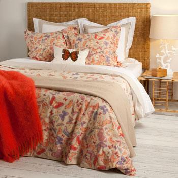 Romantyczna wzorzysta pościel w kolorowe kwiaty - propozycje od Zara Home