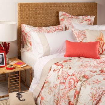 Piękna wzorzysta pościel w kolorze malinowym - propozycje od Zara Home