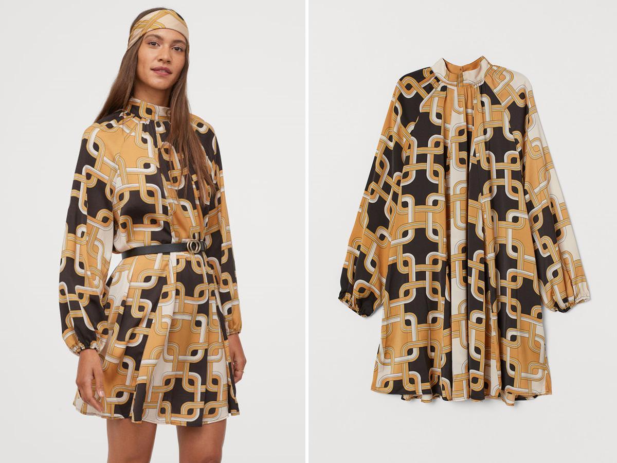 Sukienka z H&M hitem Instagrama