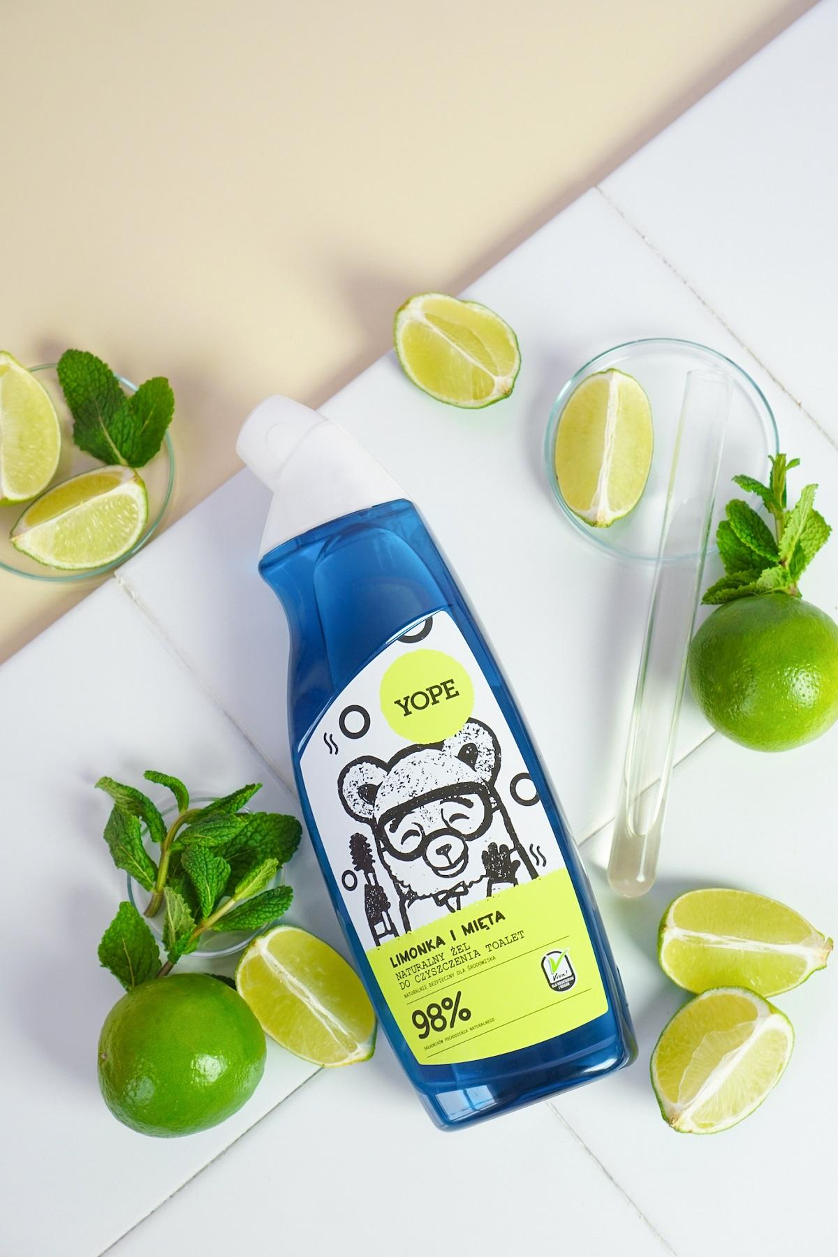 Yope naturalny żel do czyszczenia toalet limonka i mięta opinie