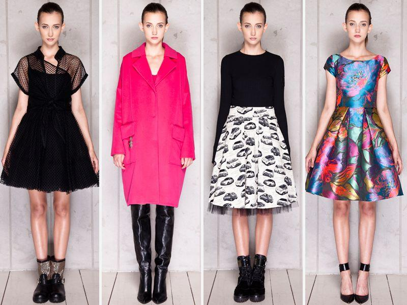 a3a028e6f7 Lidia Kalita - Kolekcja jesień 2015 - Modne ubrania - Trendy sezonu ...