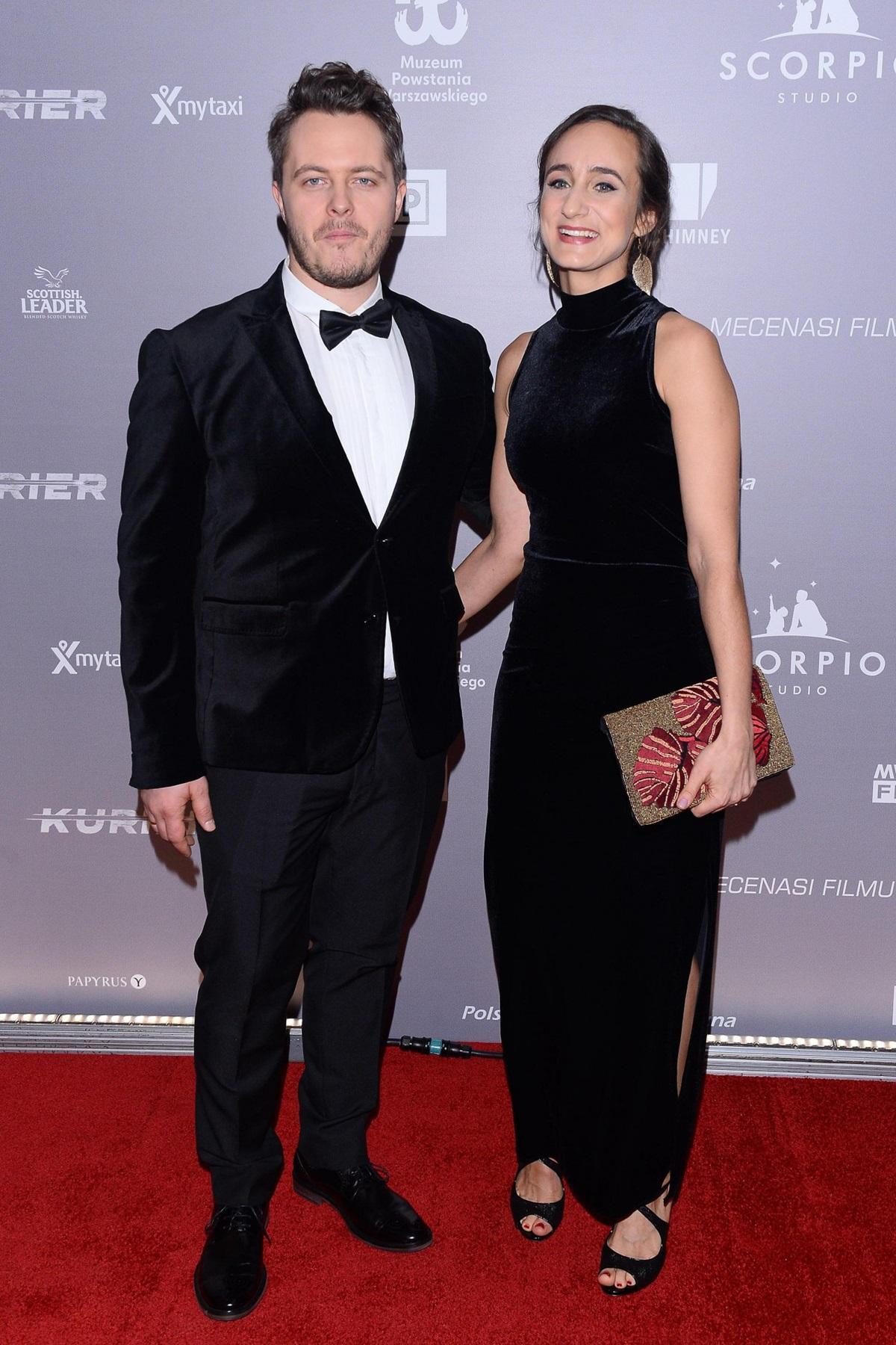"""Tomasz Schuchardt na premierze filmu """"Kurier"""""""