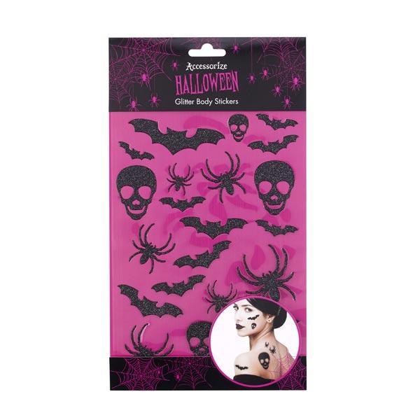Halloweenowe Naklejki Tatuaże Na Ciało Accessorize Ok 25