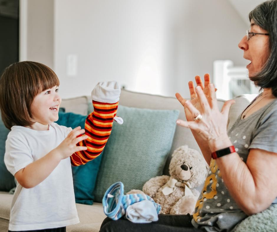 Zabawy palcami z dziećmi