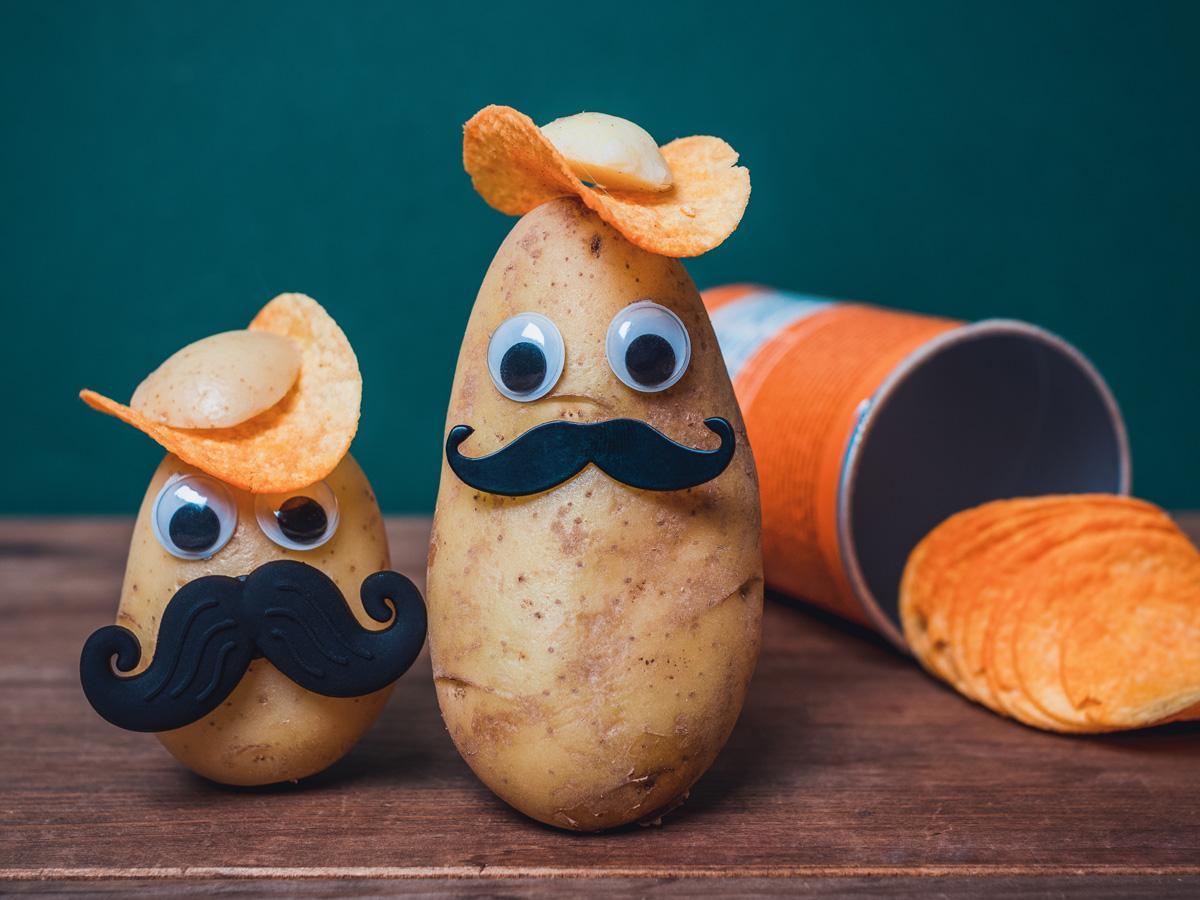 Ludziki z ziemniaków