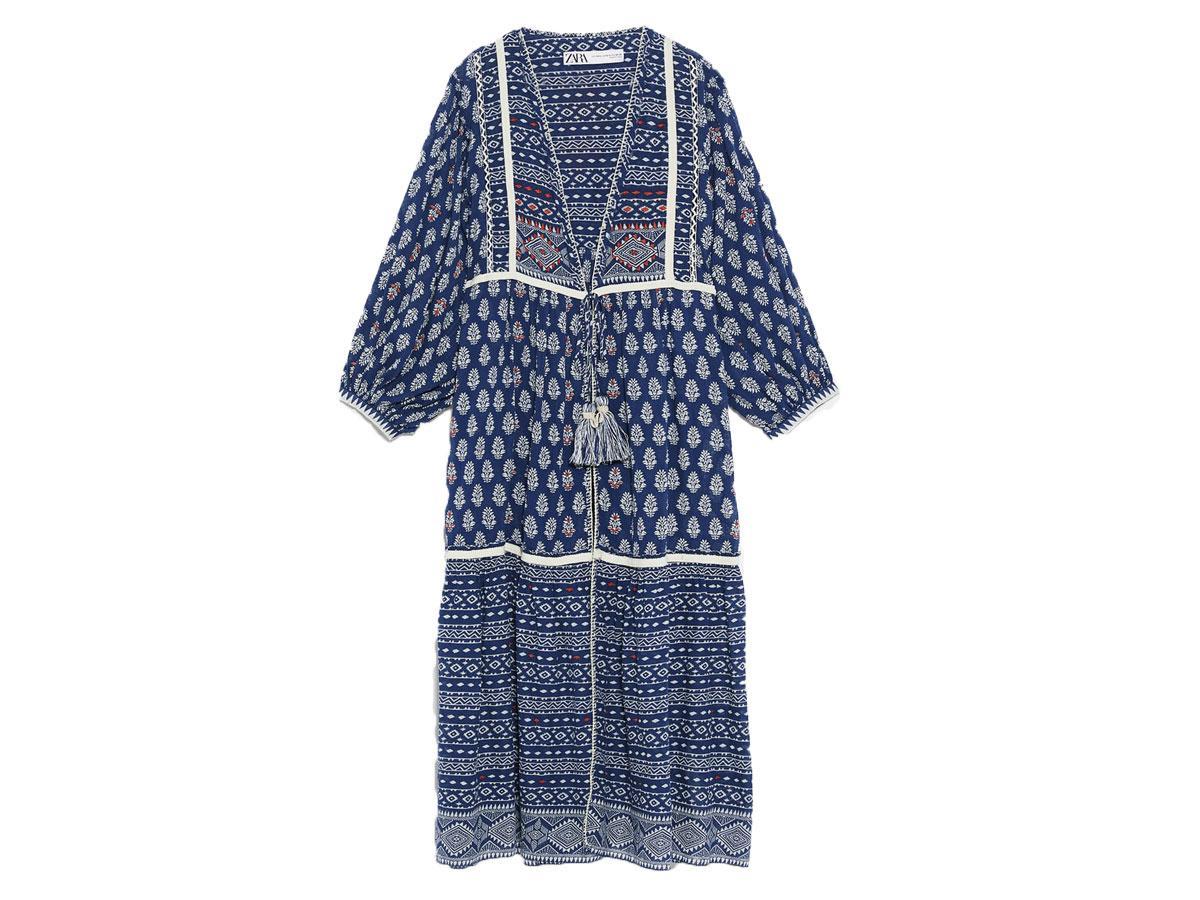 Kimono z nadrukiem Zara