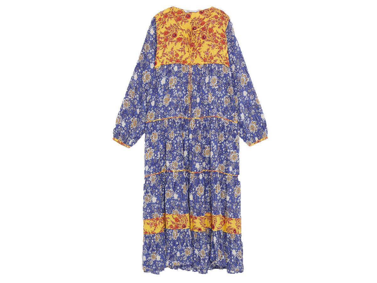 Sukienka w stylu boho Zara