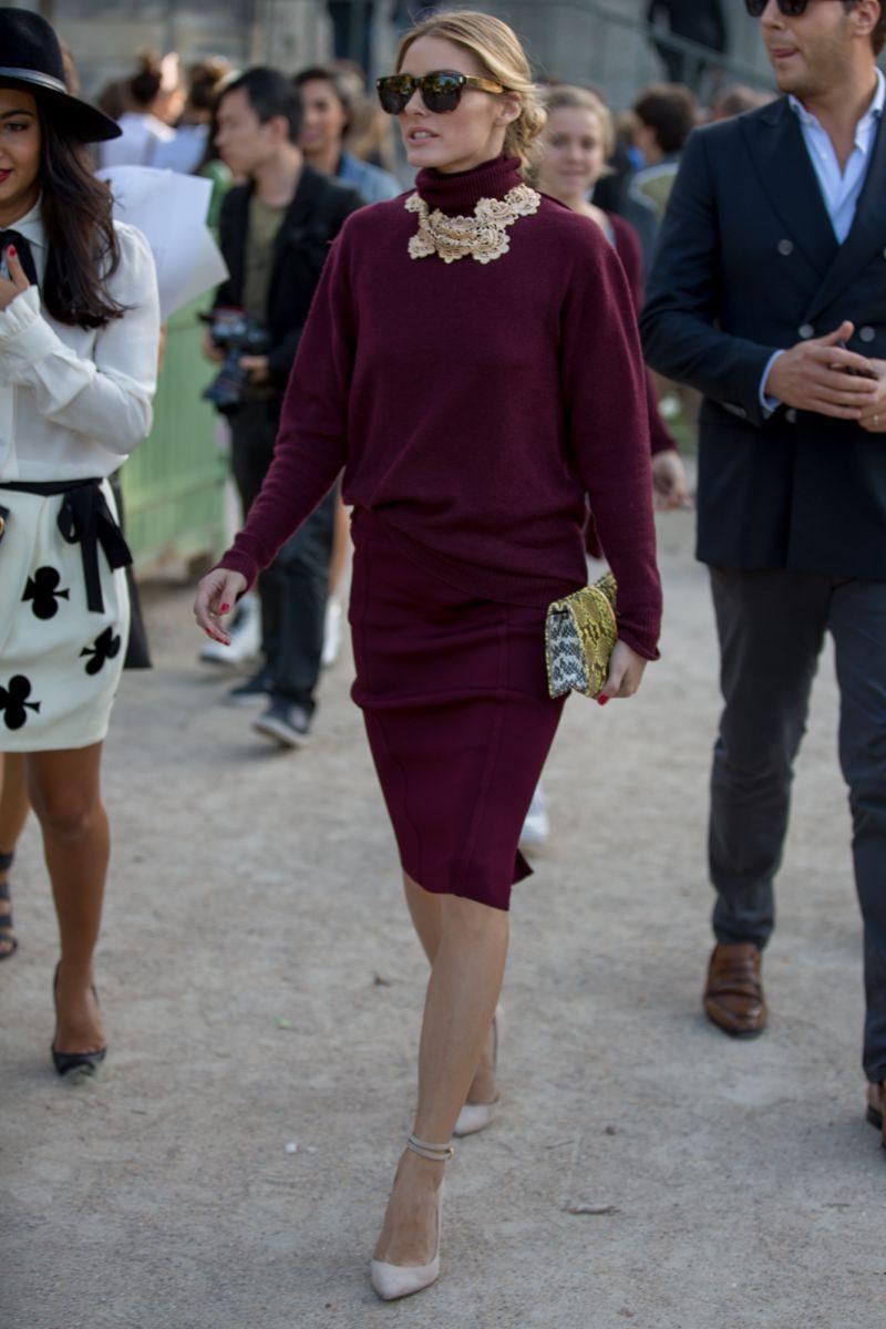 Olivia Palermo podczas Paris Fashion WeekOlivia Palermo podczas Paris Fashion Week