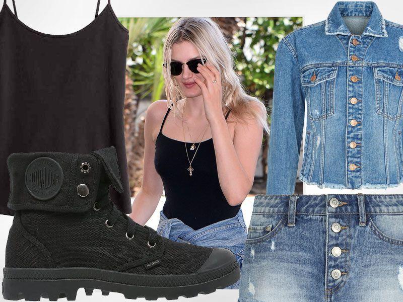 Zainspiruj się stylem modelek: Lily Donaldson