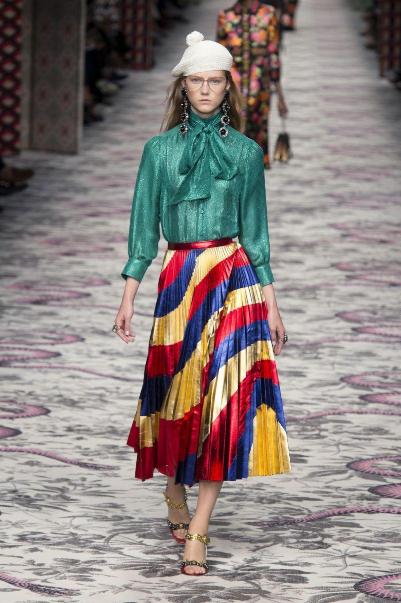 Zainspruj się lookiem z pokazu: wiosenny Gucci