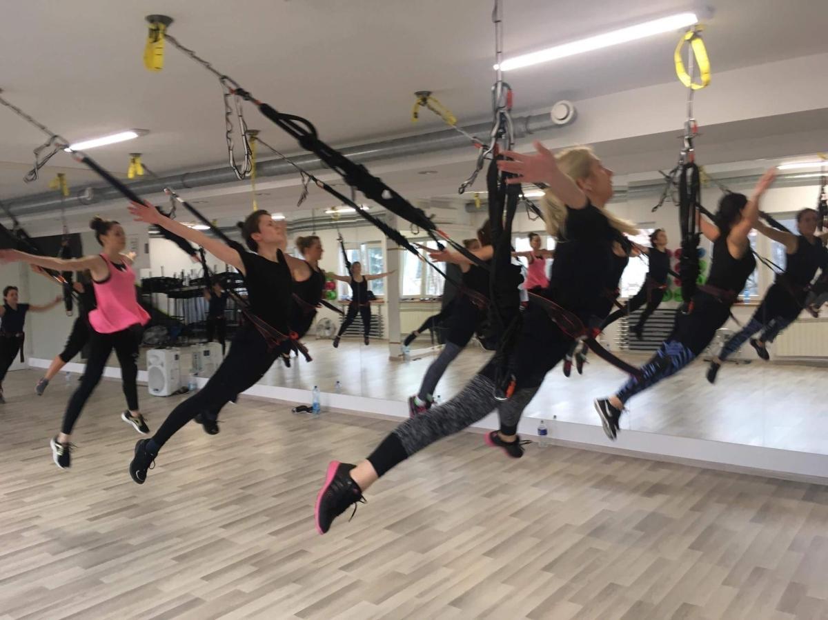 Zajęcia bungee fitness