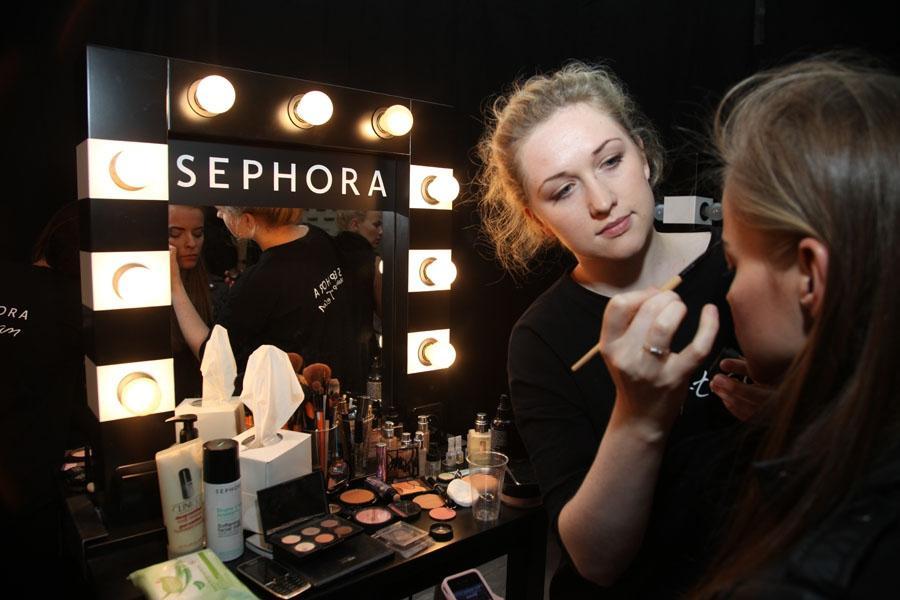 Sephora - wyłącznym kreatorem makijażu podczas Flesz Fashion Night