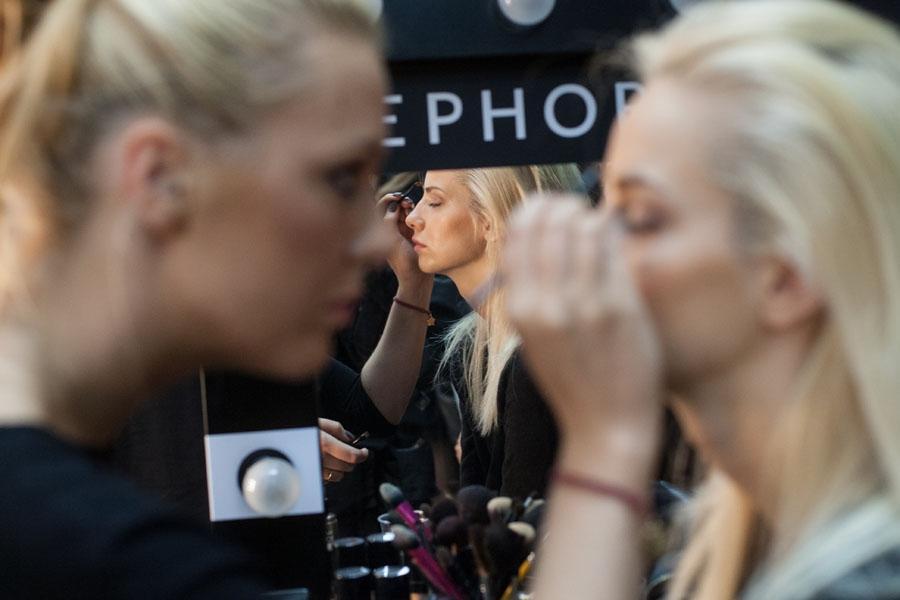 Sephora kreatorem makijażu modelek