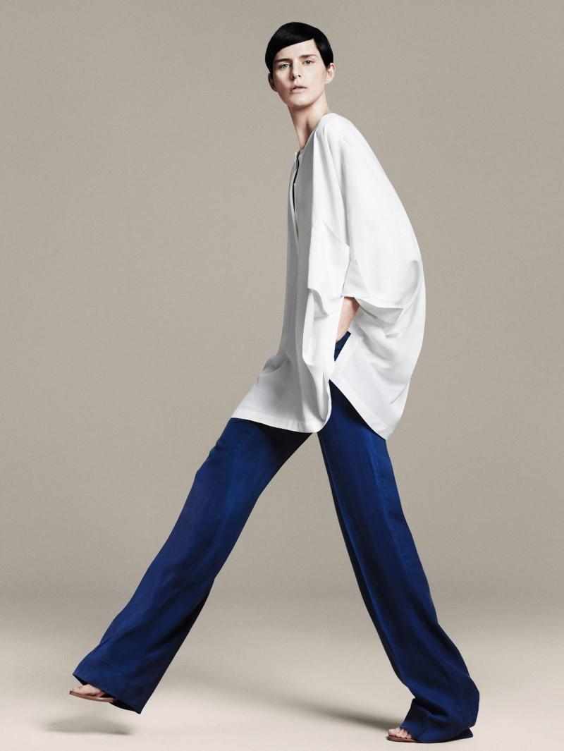 biała koszula ZARA - trendy wiosna-lato