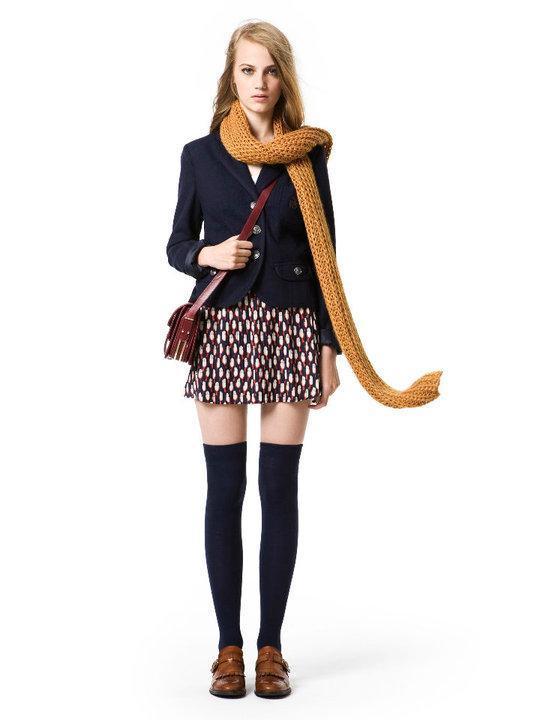 ZARA, kolekcje jesień/zima 2010/2011, stylizacje