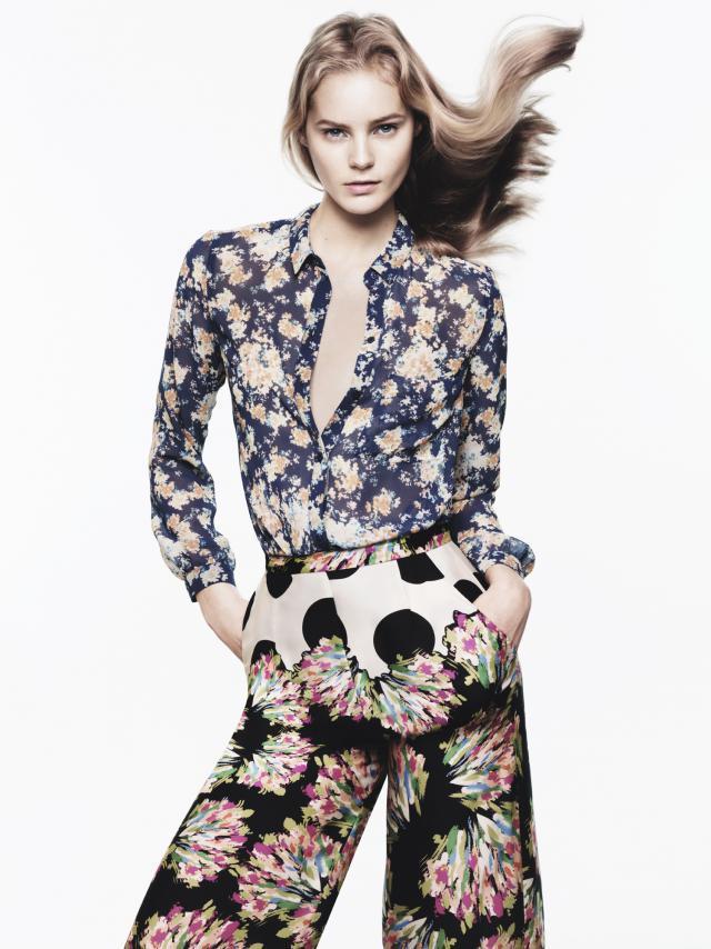 Zara Trafaluc, kwiaty, wiosna 2012