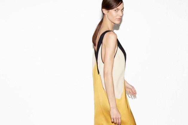 sukienka ZARA - wiosenne stylizacje