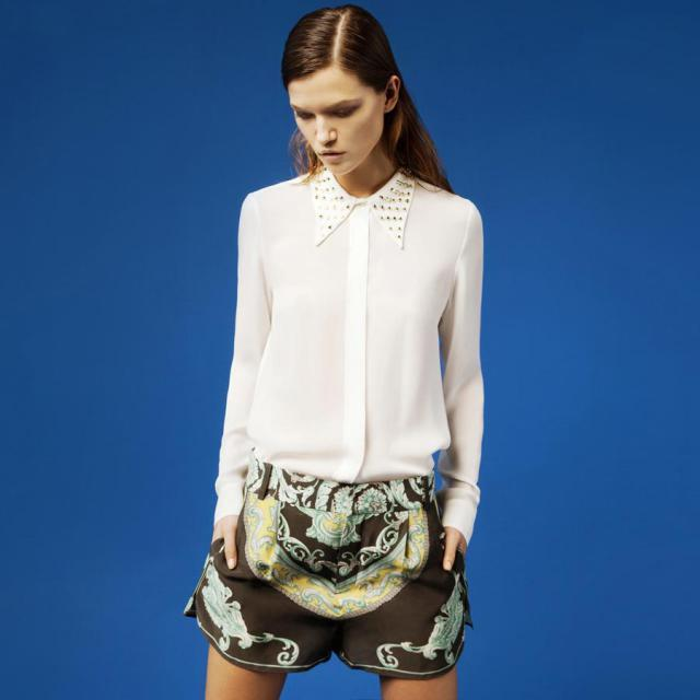 Zara, ubrania, wiosna 2012