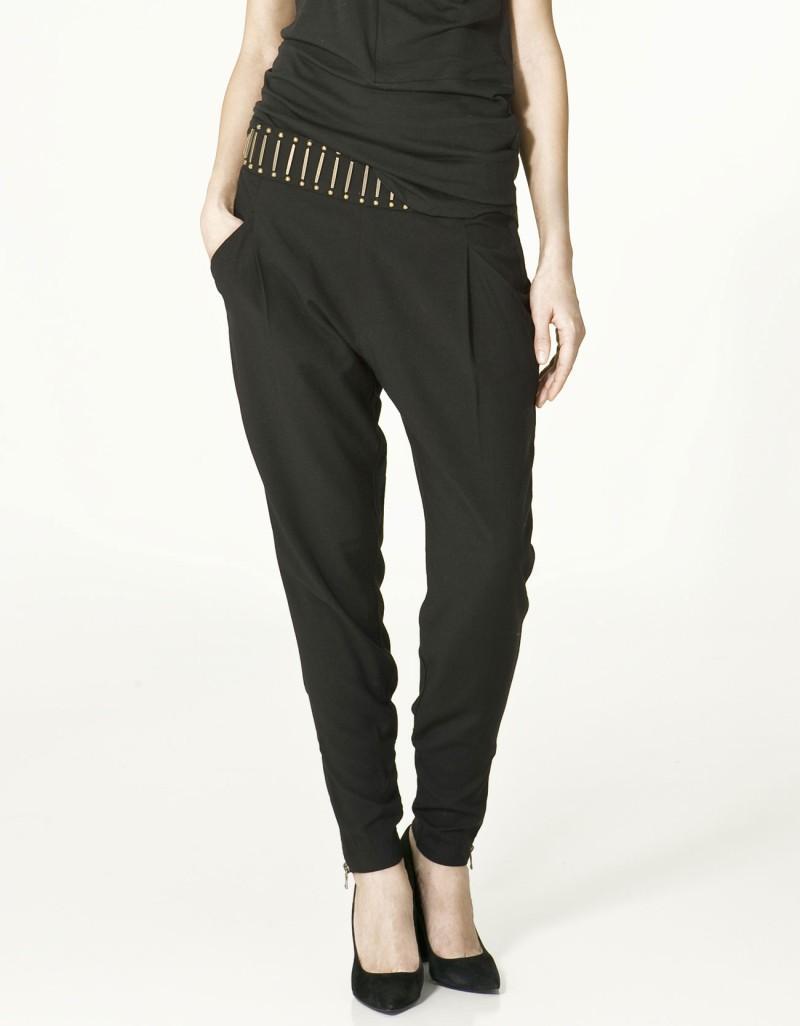 czarne spodnie ZARA - wiosna-lato 2011