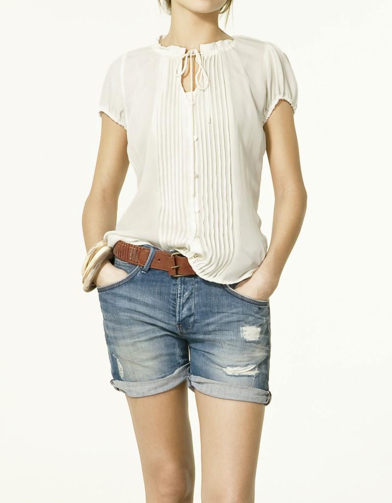 szorty ZARA dżinsowe - letnia kolekcja